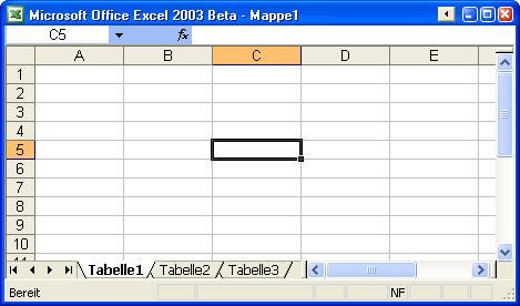 Überblick über Microsoft Excel